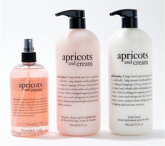 Philosophy Super Size Fresh Creamy Gel Lotion Body Spritz Set Qvc Com Body Lotion Fragrance Spray Spritz