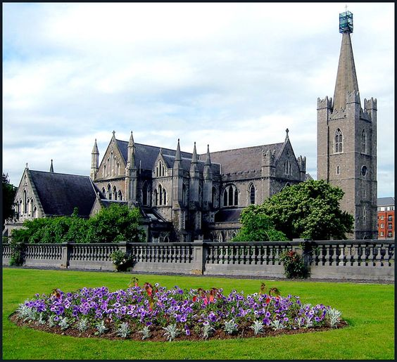 St. Patrick's Cathedral-Dublin, Ireland. Church of England/Ireland should give St. Patrick's back to the Catholics who started and built this church. It was taken over by the Church of England when Henry VIII broke with the Roman Catholic Church.: