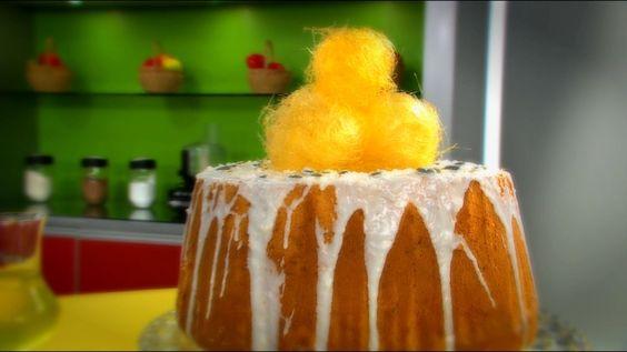 Baño Sencillo Para Tortas: de limón, un postre sencillo e ideal para compartir en casa con la