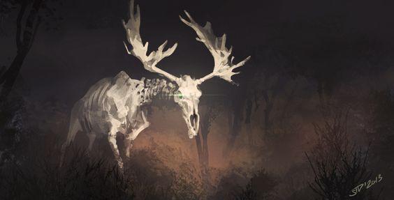 ArtStation - White moose, Vitalii Smyk