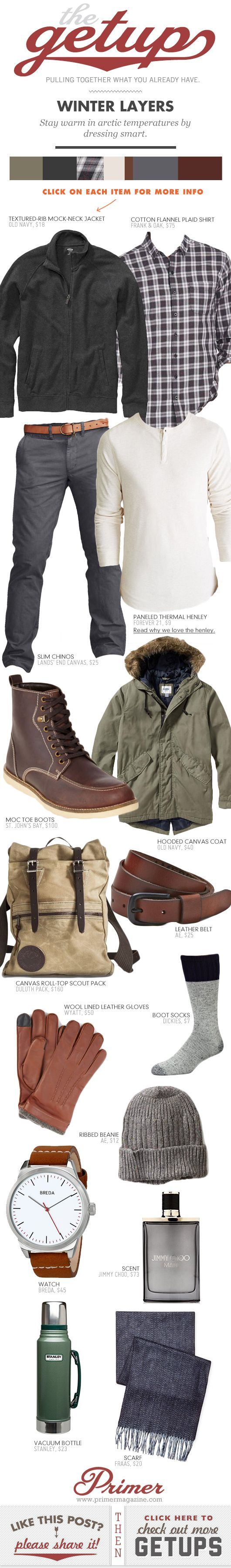 The Getup: Winter Layers - Primer