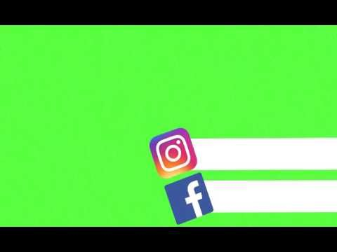 Redes Sociais Green Screen Youtube Com Imagens Logotipo Do