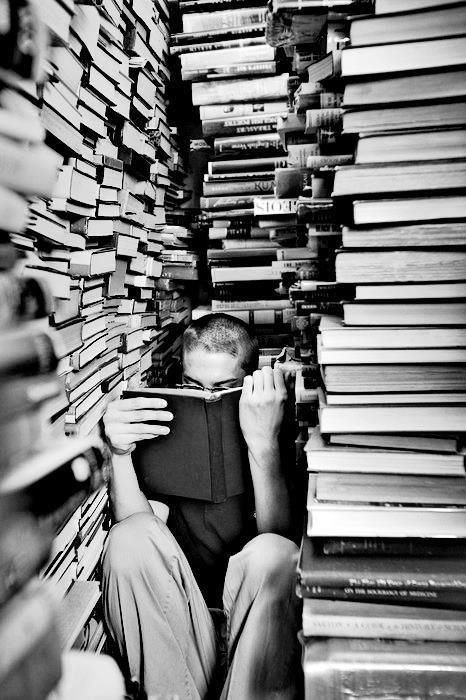 And no one will ever find me.  books library