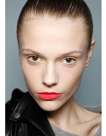 matte lips at Nicole Farhi