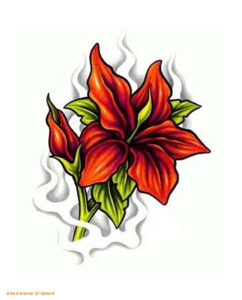 http://tattoomagz.com/tiger-lily-tattoo-designs/flower-tattoo-designs-timeless-symbols-of-expression-women/