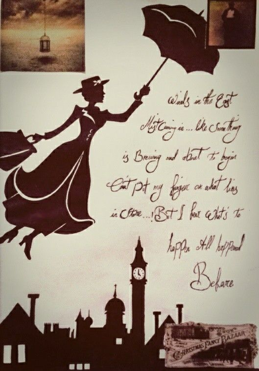 Mary Poppins Winds In The East