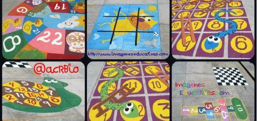 Nuevos diseños de juegos tradicionales para decorar nuestro patio Portada 2