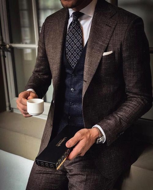 Three Piece Suits Are Your Best