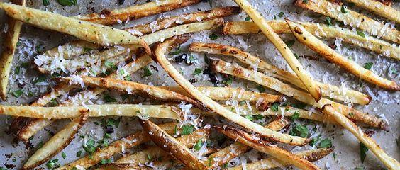 Hvidløg Parmesan Fries