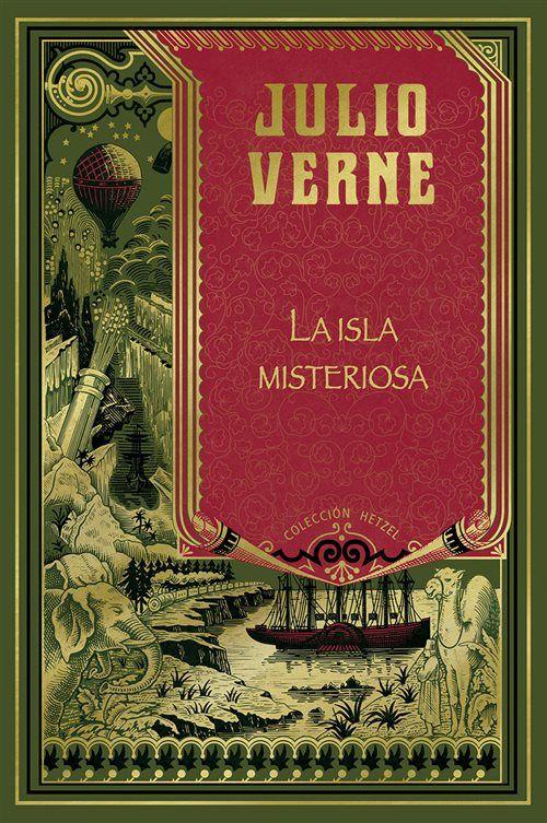 La Isla Misteriosa Julio Verne Libro De Aventuras Libros En Espanol