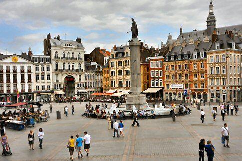 Grand Place à Lille
