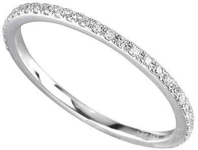 Majolie Collections Rounded Diamond and White Gold Ring - $395.00