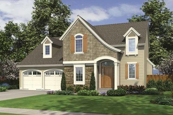 Colonial Style House Plan 3 Beds 2 5 Baths 1789 Sq Ft Plan 46 798 In 2020 House Plans French Country House Plans French Country House