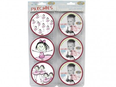 School-Mood Patchy pinky