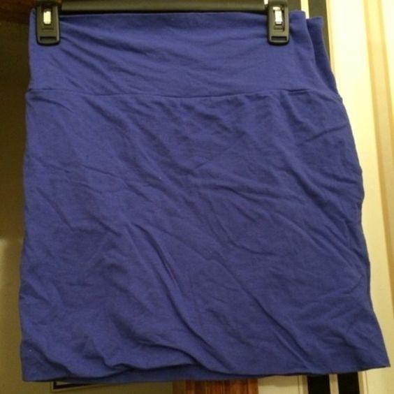 Wet Seal Royal Blue Bodycon Skirt NWT bodycom skirt Wet Seal Skirts
