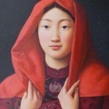 Xue Mo (pintora nacida en Mongolia en 1961).