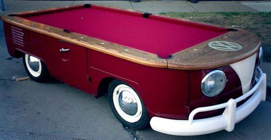 vw pool table
