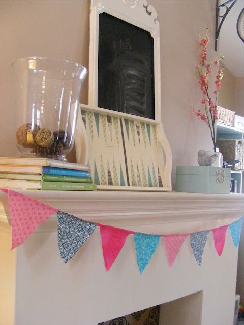 The Complete Guide to Imperfect Homemaking: Super Easy No-Sew Pennant Banner