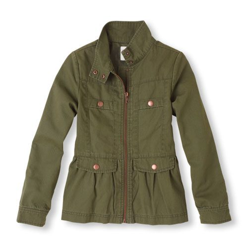 Girls military jacket $34.95 Children&39s Place. Part of the
