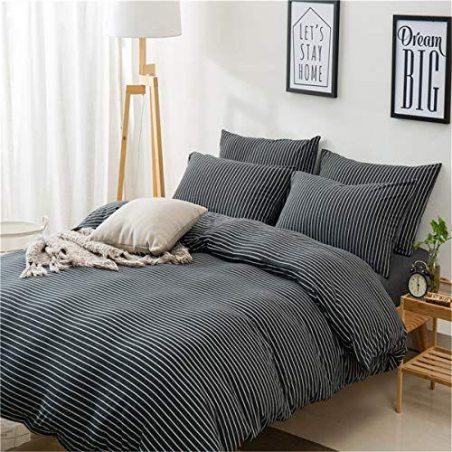 Pomco Ultra Soft Duvet Cover Set Jersey Knit Cotton Bedding Set