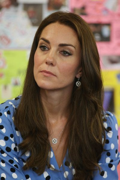 Kate Middleton Photos Photos - Catherine, Duchess of Cambridge during a visit to…: