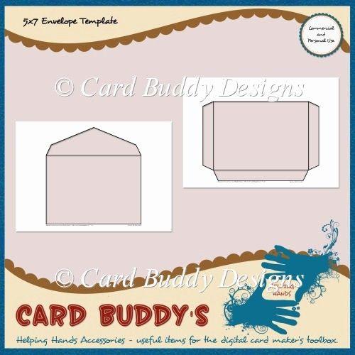5x7 Postcard Template For Word Inspirational 5x7 Envelope Template Cu Pu 1 80 Scrapbookingmad In 2020 Envelope Design Template Postcard Template Envelope Template