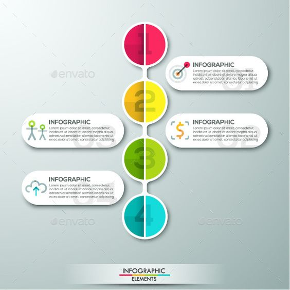 Modern Infographics Paper Template | Paper templates, Paper and ...