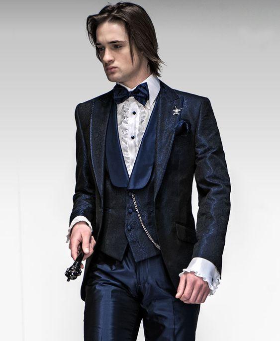 Ottavio Nuccio, Emotion Col. High Fashion Italian Dress Suits, model E08 - Cod. 267
