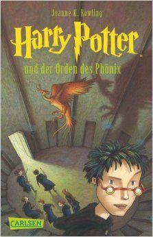 Harry Potter Und der Orden Des Phonix (German Edition): J. K. Rowling, Klaus Fritz: 9783551354051: Amazon.com: Books