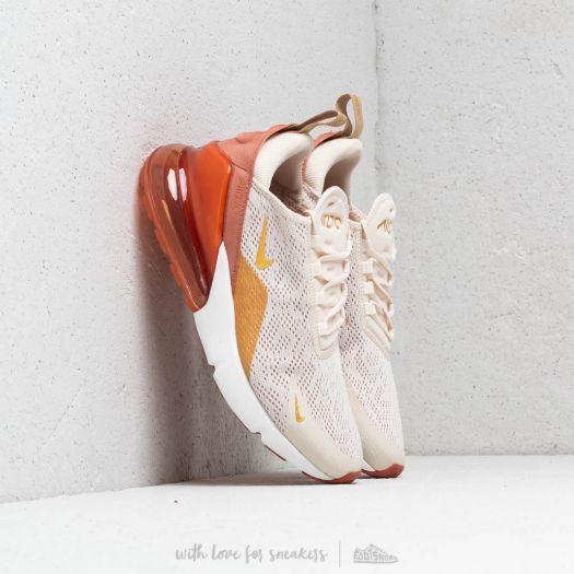 Nike W Air Max 270 Light Cream Metallic Gold Terra Blush in