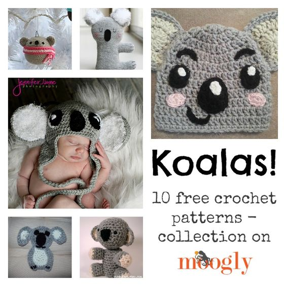 Koalas, Free crochet and Patterns on Pinterest
