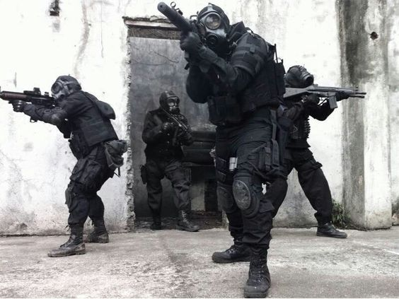British SAS Training.