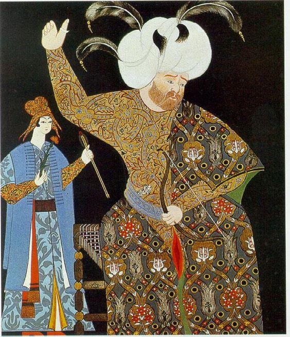 osmanlı giyim tarzı, örnek resimler & Ottoman style clothing, sample pictures & sultan selim II 1570