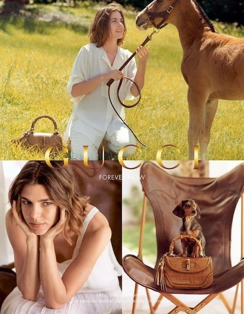 Charlotte Casiraghi | Gucci - Forever Now