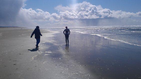 beach near Florence, Oregon