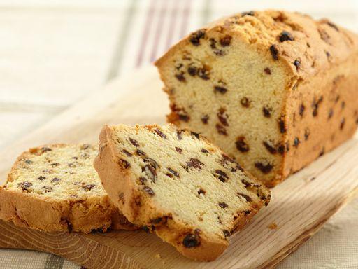 Cake aux raisins secs