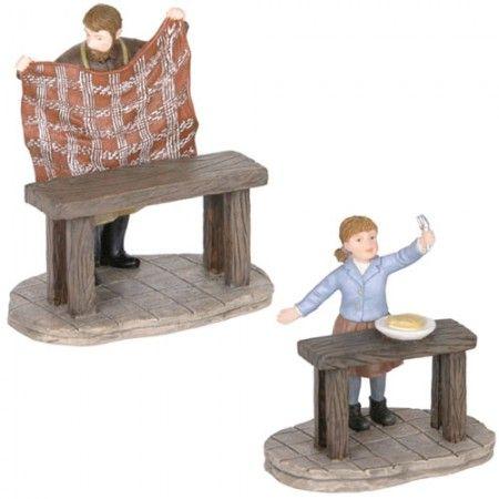 Luville de tafel opruimen is een van de eerste figuren uit onze Luville collectie. Bekijk de gehele collectie Luville online!