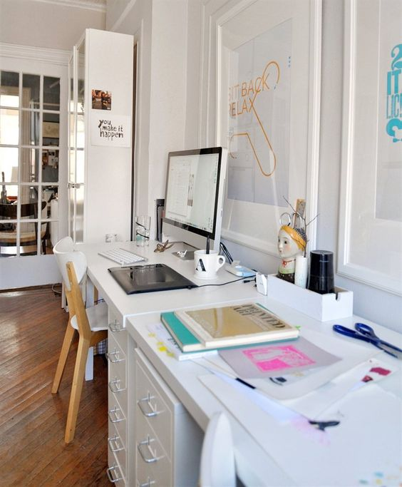 Incredible Making A Creative Workspace At Home Live From Ikea Family Largest Home Design Picture Inspirations Pitcheantrous