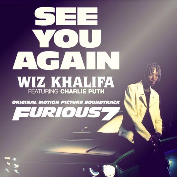 Wiz Khalifa, Charlie Puth – See You Again (single cover art)