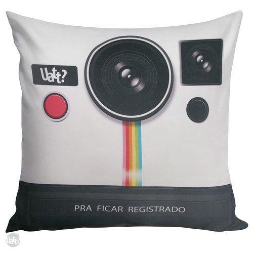 CAPA DE ALMOFADA - PHOTO RETRO