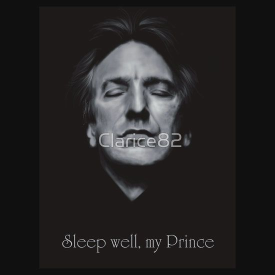 RIP - Alan Rickman - Sleep well my Prince 2