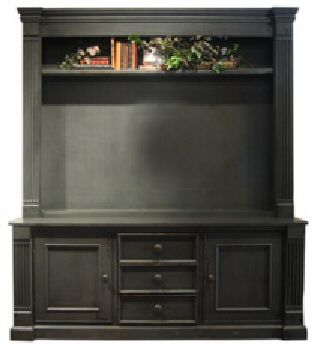Marleybone Flat Screen Entertainment Center is perfect for your Plasma LCD Screen TV. This handsome unit holds your television and also provides plenty of storage with two cabinets and three drawers in the base and one top shelf. Int
