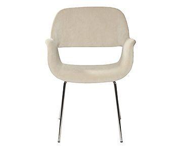 Cadeira Mooi Bege - Com Braço