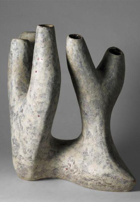 Valentine Schlegel: Tree vase ca. 1960 - stoneware