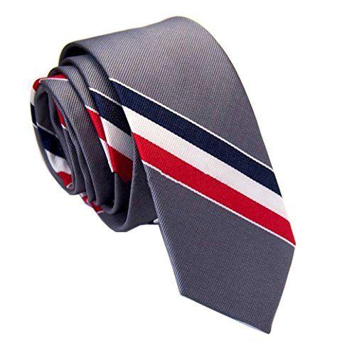 MENDENG Mens Purple Rose Red Floral Paisley Jacquard Woven Cravat Tie Ascot