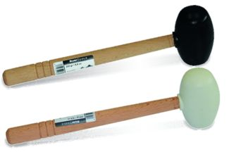 Rubber mallet - flat/spherical sides - Mallets & beaters - RUBI Catalogue