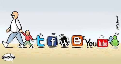 O jovem internauta brasileiro possui perfil em 7 redes sociais