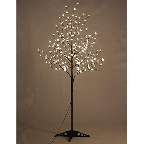 Led Blossom Tree Warm White Cherry Blossom Christmas Outdoor Indoor 6 5ft 6 Pack Christmastree Xmas Eb Light Up Tree Cherry Blossom Light Tree Blossom Trees