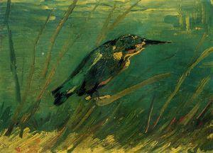 The Kingfisher - (Vincent Van Gogh)