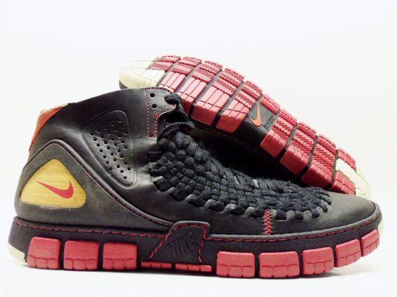 nike shox chaussures filles - NIKE CONSIDERED 2K5 BLACK/VARISTY RED-LIGHT BONE MEN'S 12 [313716 ...